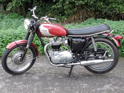 Lot 7-1970 Triumph T120R Bonneville