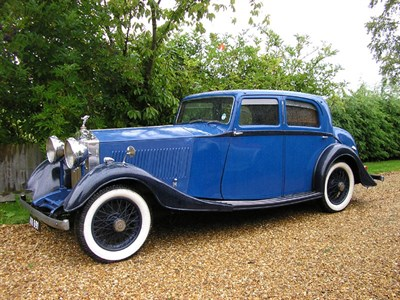 Lot 70-1934 Rolls-Royce 20/25 Saloon