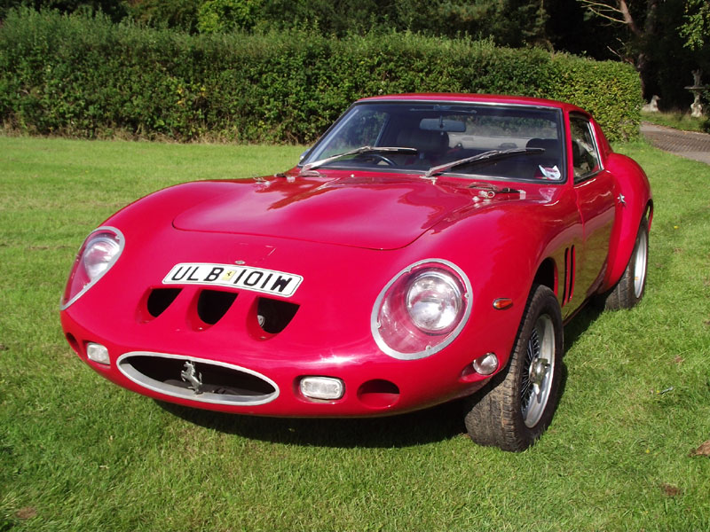 Lot 39-1980 Ferrari 250 GTO Evocation