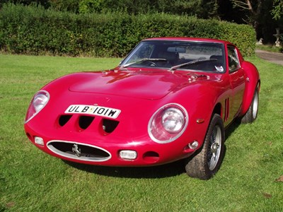 Lot 39-1980 Ferrari 250 GTO Evocation