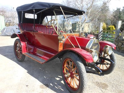 Lot 30-1912 Buick Tourer