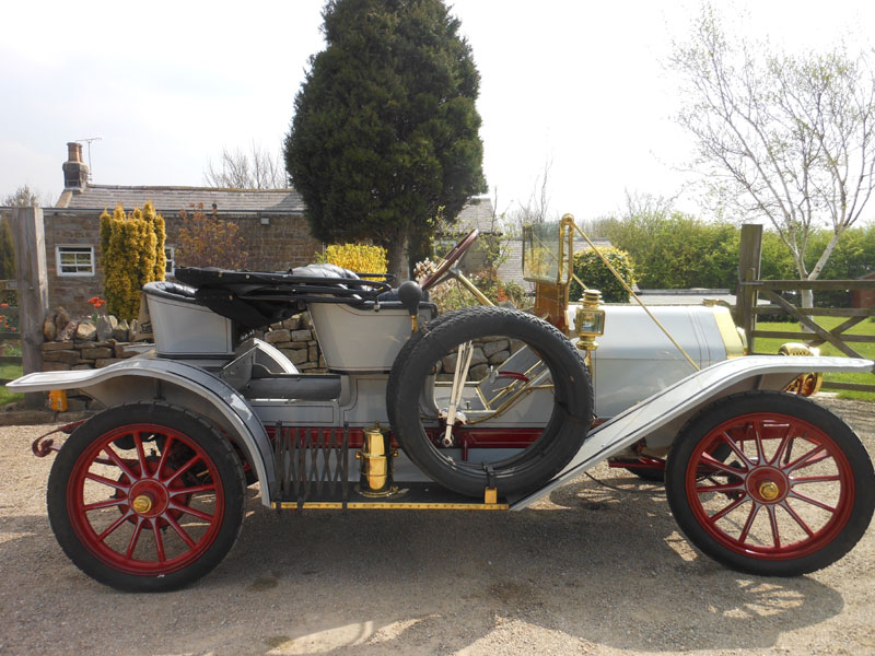 Lot 100 - 1910 Willys Overland Model 40 Roadster