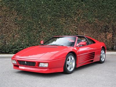 Lot 29-1992 Ferrari 348 TS