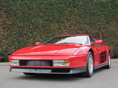 Lot 96-1990 Ferrari Testarossa