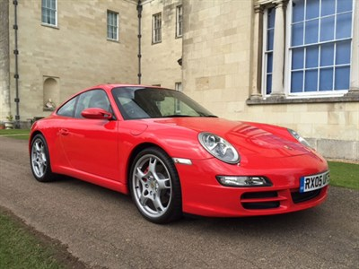 Lot 98-2005 Porsche 911 Carrera 2S