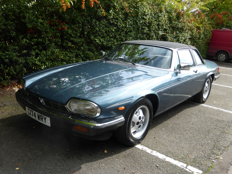 Lot 72-1985 Jaguar XJ-SC 5.3