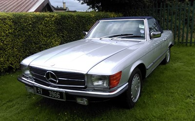 Lot 132-1978 Mercedes-Benz 450 SL
