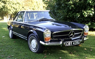 Lot 135-1969 Mercedes-Benz 280 SL