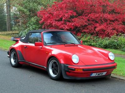 Lot 41-1983 Porsche 911 SC Cabriolet