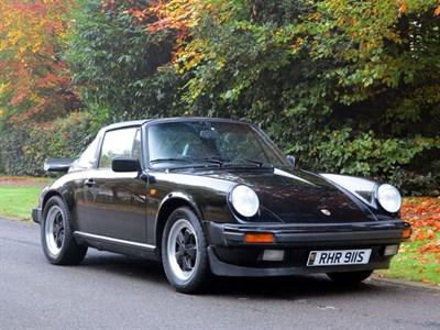 Lot 43-1984 Porsche 911 Carrera 3.2 Targa