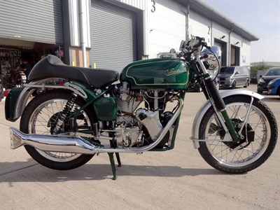 Lot 6-1966 Velocette Thruxton