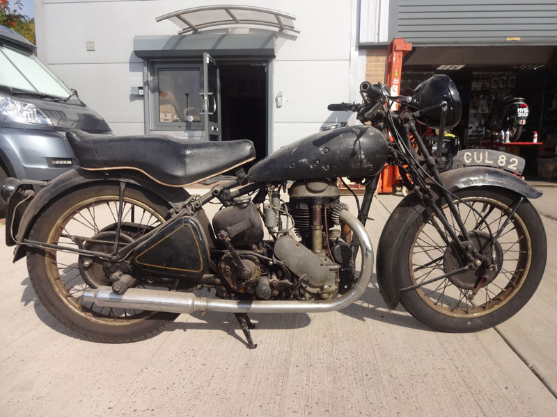 Lot 25-1936 Rudge Ulster