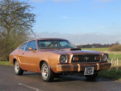 Lot 3-1976 Ford Mustang II Liftback 'Mach I'