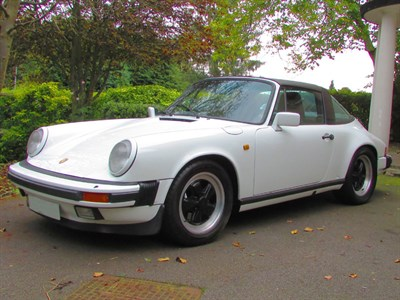 Lot 27-1986 Porsche 911 Carrera 3.2 Targa