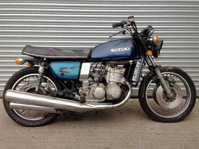 Lot 16-1977 Suzuki GT750B