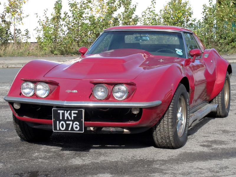 Lot 58-1969 Chevrolet Corvette Stingray Convertible