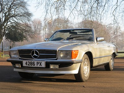 Lot 57-1973 Mercedes-Benz 350 SL