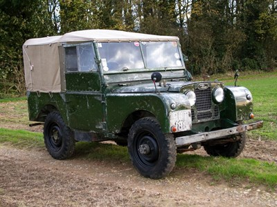 Lot 5-1952 Land Rover 80