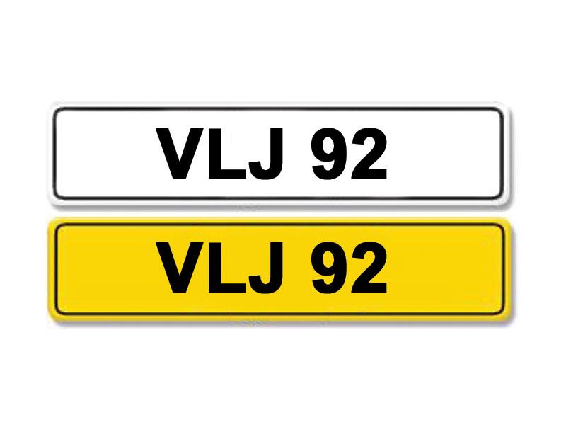Lot 1-Registration Number VLJ 92
