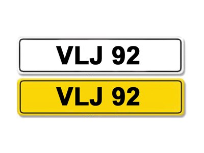 Lot 1-Registration Number VLJ 92