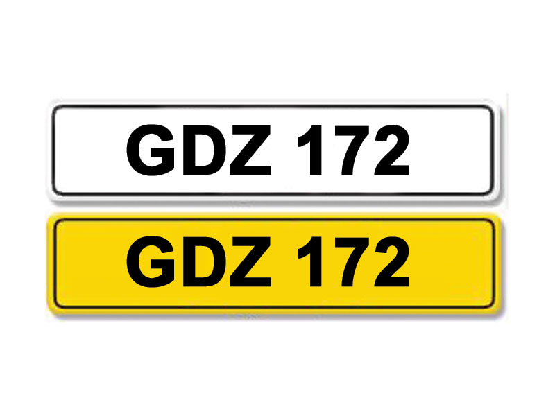 Lot 14-Registration Number GDZ 172