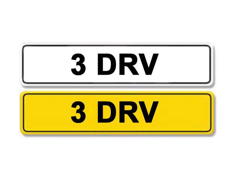 Lot 7 - Registration Number 3 DRV