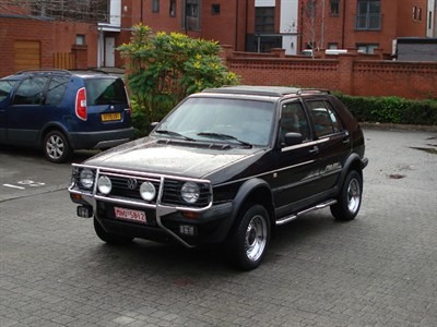 Lot 111-1991 Volkswagen Golf Country 'Chrom' Edition