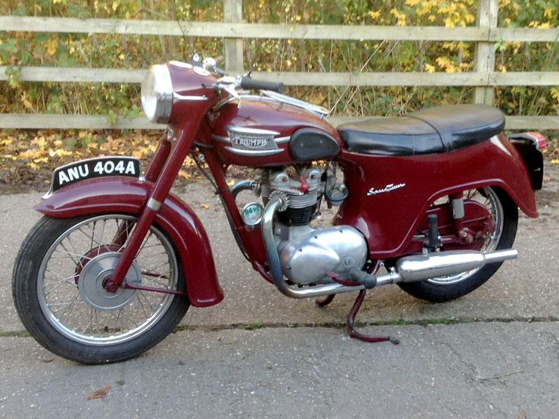 Lot 5-1963 Triumph 5T Speed Twin