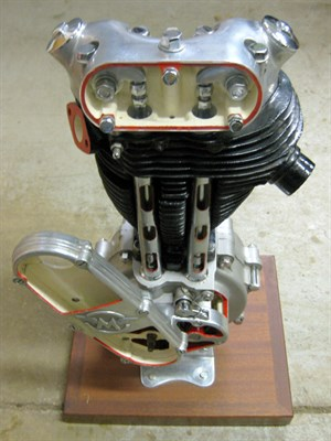 Lot 26-Matchless G3 Cut-Away Engine