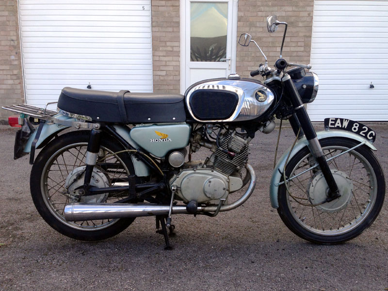 Lot 4-1965 Honda CB160