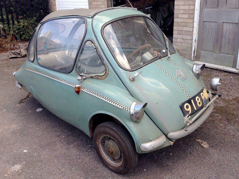 Lot 8-1960 Heinkel Type 153