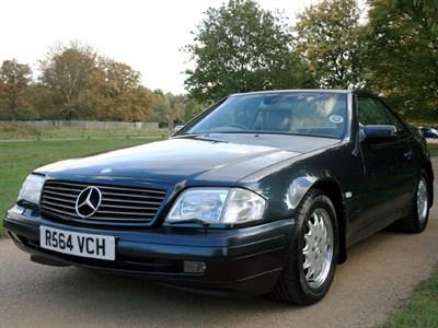 Lot 39-1997 Mercedes-Benz SL 500