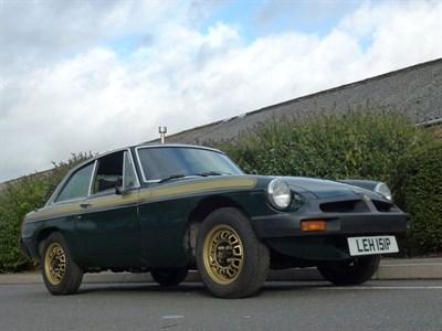 Lot 122-1975 MG B GT Jubilee