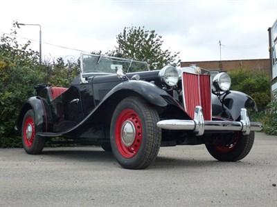 Lot 139-1951 MG TD