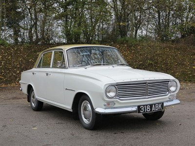 Lot 14 - 1962 Vauxhall Victor FB Deluxe