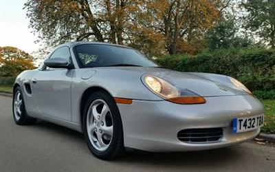 Lot 50-1999 Porsche Boxster