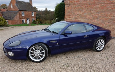 Lot 25-2001 Aston Martin DB7 Vantage