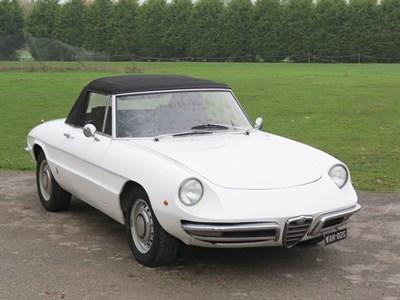 Lot 11-1968 Alfa Romeo 1300 Spider Junior