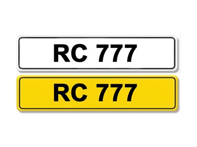 Lot 8-Registration Number RC 777