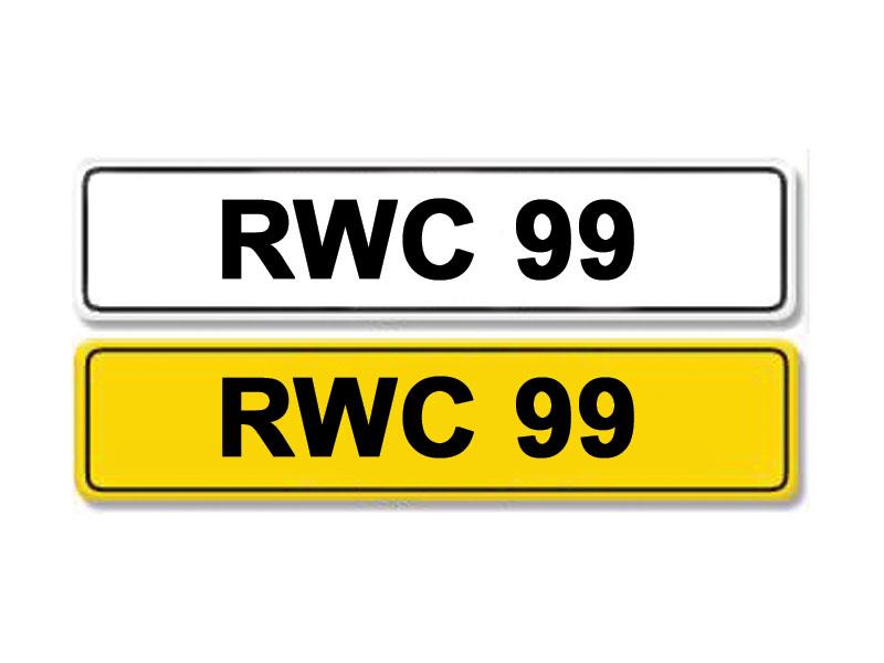 Lot 12-Registration Number RWC 99