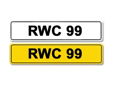 Lot 12-Registration Number RWC 99