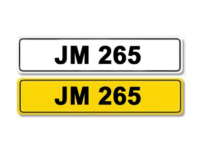 Lot 4-Registration Number JM 265