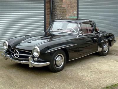 Lot 70-1960 Mercedes-Benz 190 SL