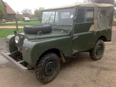 Lot 71-1951 Land Rover 80