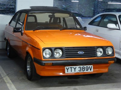 Lot 108-1979 Ford Escort RS 2000