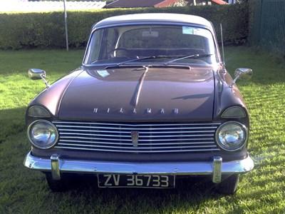 Lot 140-1963 Hillman Super Minx