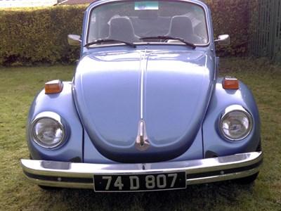 Lot 109-1974 Volkswagen Beetle 1303 Convertible