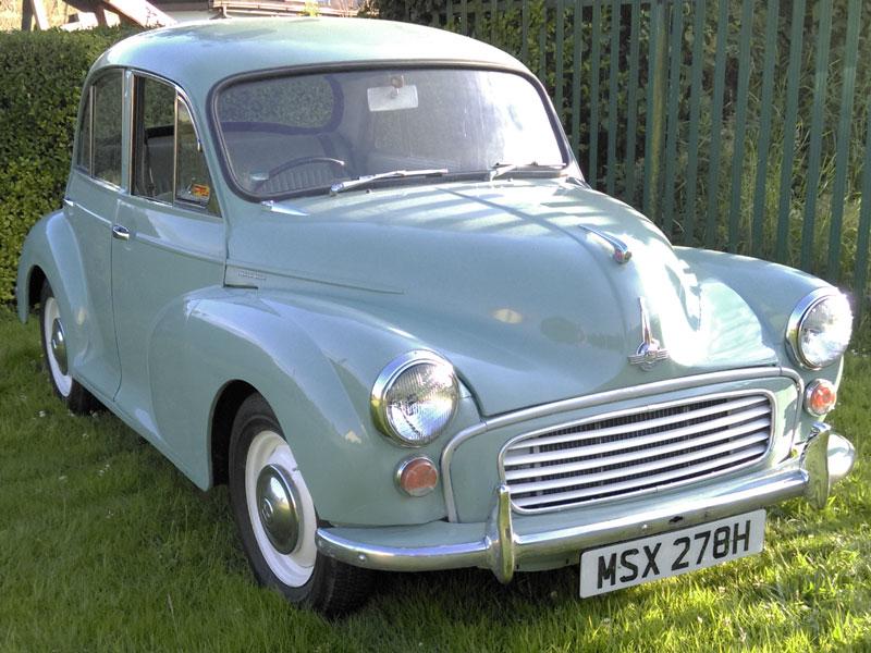 Lot 13 - 1970 Morris Minor 1000