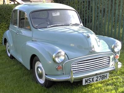 Lot 13-1970 Morris Minor 1000