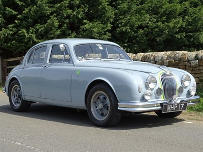 Lot 28-1958 Jaguar MK I 'Brian Lister Tribute'